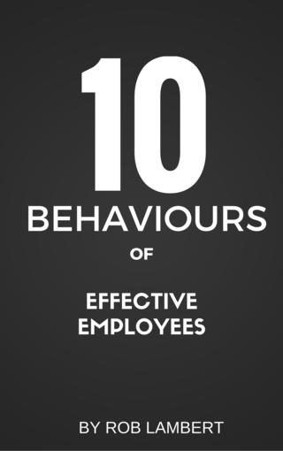 10 Behaviours Of Effective Employees