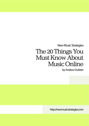 The 20 Things You Must Know About Music Online