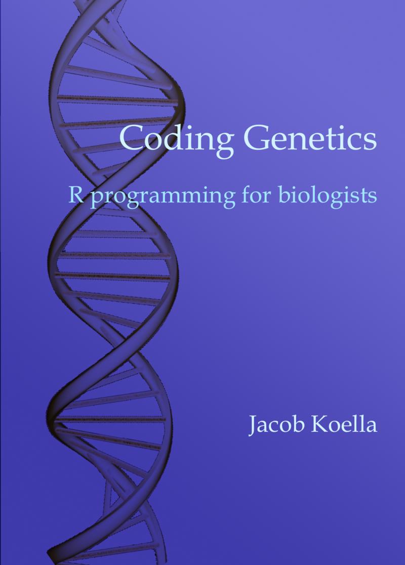Coding Genetics by Jacob C  Koella [Leanpub PDF/iPad/Kindle]