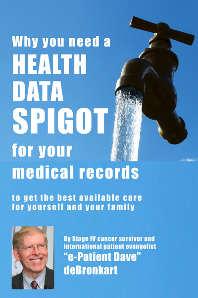 Why you need a Health Data Spigot [90% Complete]