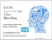 KEN: A Knowledge Engineering Notion of Education