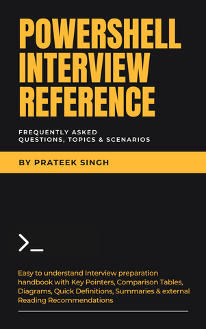 PowerShell Interview Reference