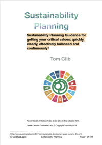 Sustainability Planning: UN Goals deep analysis and clarification methods