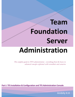 Team Foundation Server Administration