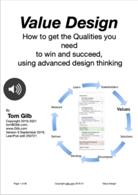 Value Design: How to get the Qualities you need to win and succeed, using advanced design thinking