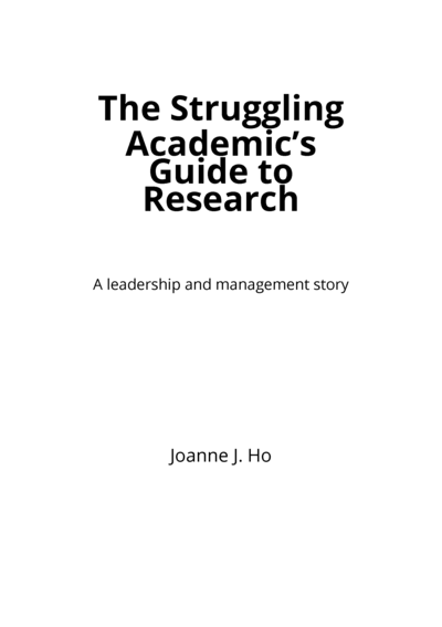 The Struggling Academic's Guide to Research