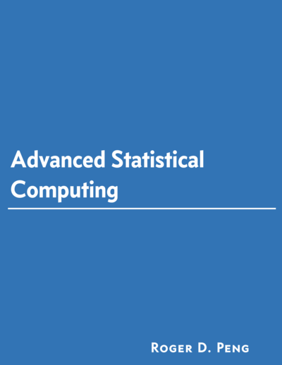 Advanced Statistical Computing