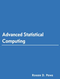 Advanced Statistical Computing