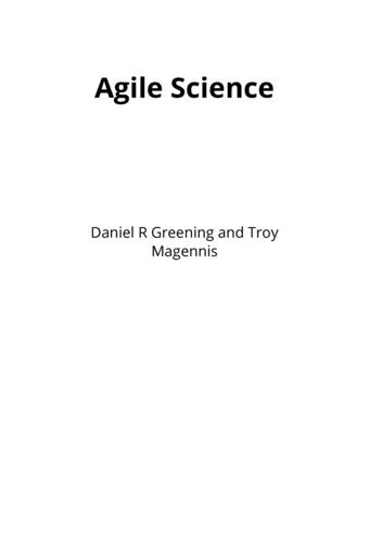 Agile Science