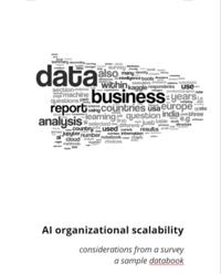 AI organizational scalability - a sample data book