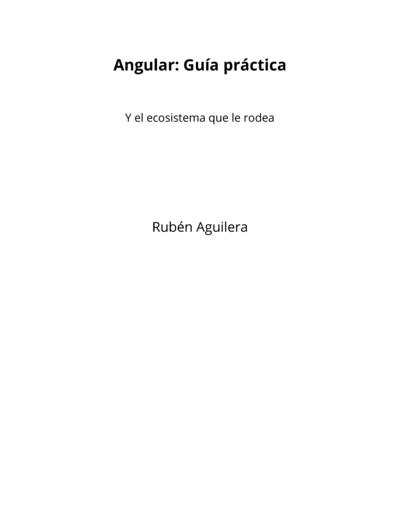 Angular: Guía práctica