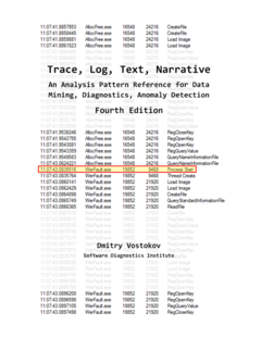 Trace and Log Analysis