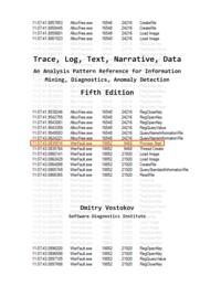Trace, Log, Text, Narrative