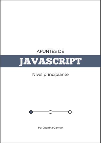 Apuntes de Javascript I