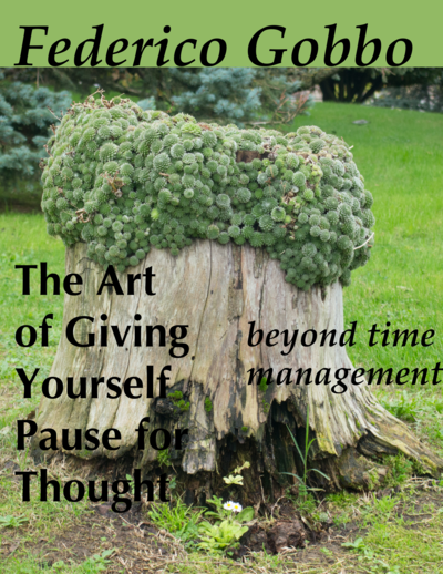 The Art of Giving Yourself Pause for Thought