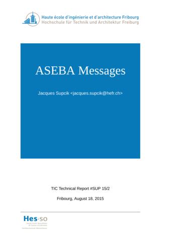 ASEBA Messages
