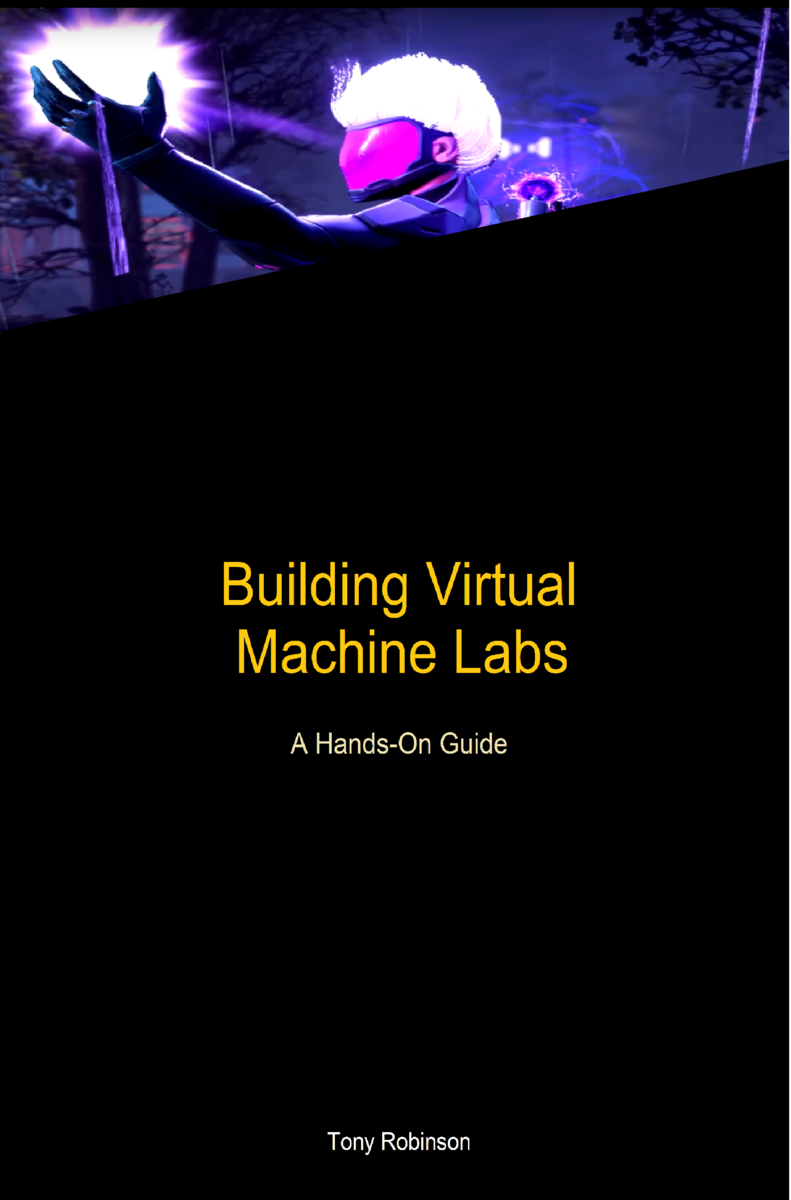 Building Virtual Machine… by Tony Robinson [PDF/iPad/Kindle]