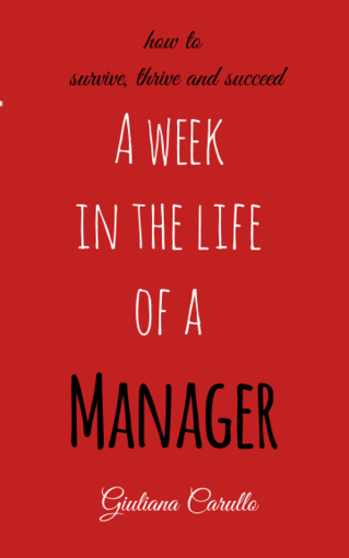 A week in the life of a manager