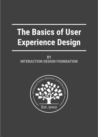 The Basics of User Experience Design