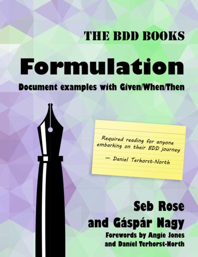 The BDD Books - Formulation