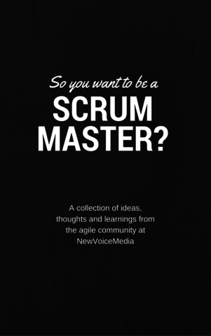 So You Want To Be A Scrum Master?