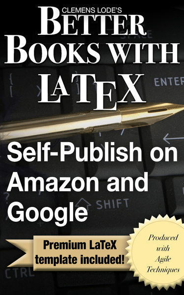 Better Books with LaTeX