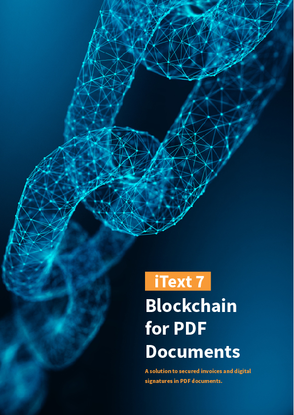 Blockchain for… by iText Software [Leanpub PDF/iPad/Kindle]