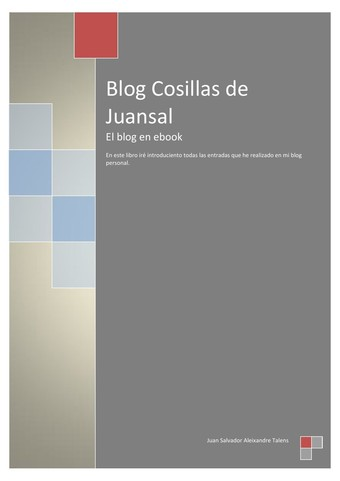 Blog Cosillas de Juansal