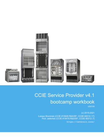 CCIE SP v4.1 - Workbook