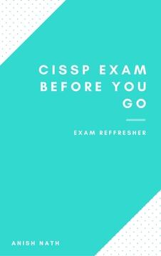 CISSP Exam Before You Go