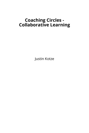 Coaching Circles - Collaborative Learning