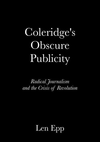 Coleridge's Obscure Publicity