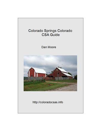 Colorado Springs Colorado CSA Guide