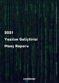 2021 Yazılım Geliştirici Maaş Raporu
