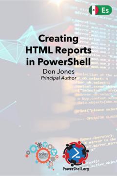 Creating HTML Reports in PowerShell (Spanish)