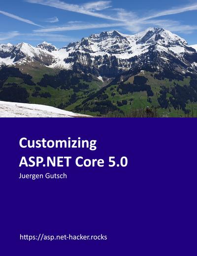 Customizing ASP.NET Core 5.0