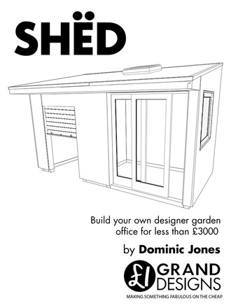 SHËD: Build your own designer garden office for less than £3000