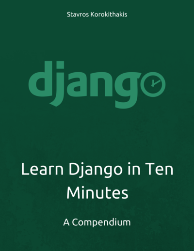 Learn Django in Ten Minutes