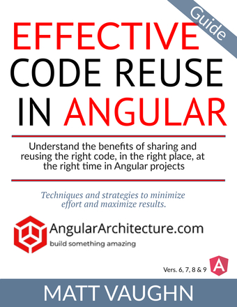 Effective Angular Code Reuse Strategies and Techniques