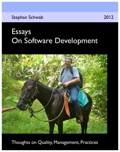 Essays On Software Development