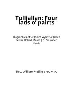 Tulliallan: Four lads o' pairts
