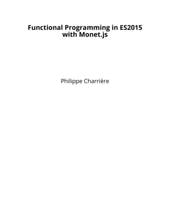 Functional Programming in ES2015 with Monet.js
