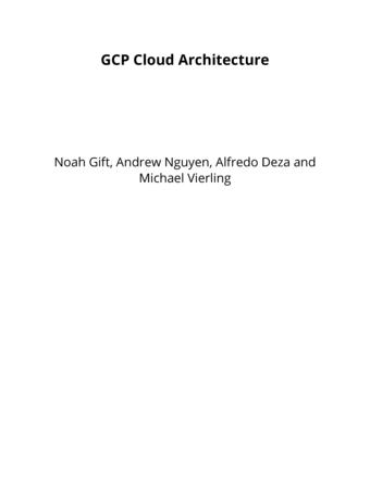 GCP Cloud Architecture