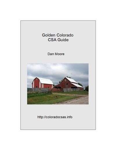 Golden Colorado CSA Guide