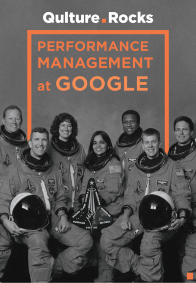 Case Study: How Google does Performance Reviews