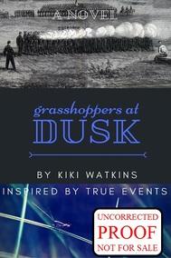 Grasshoppers at Dusk