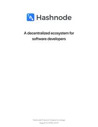 Hashnode WhitePaper