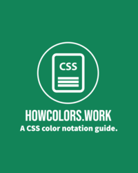HOWCOLORS.WORK