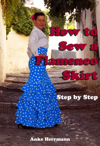 How to Sew A Flamenco Skirt - Step by Step