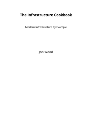 The Infrastructure Cookbook